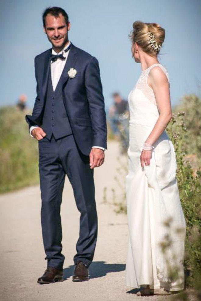 costume pour mariage le jour J
