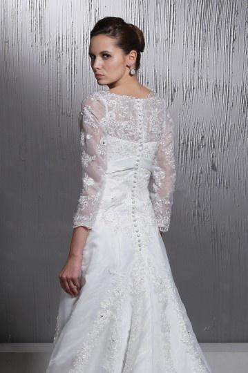 Tendance robe mariage d hiver robe avec manche for Concepteurs de robe de mariage australien en ligne