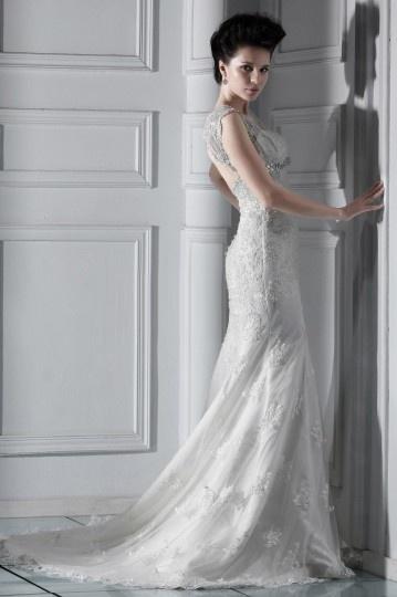 Robe de mariée de luxe en dentelle Trompette Sirène à traîne Chapel.jpg