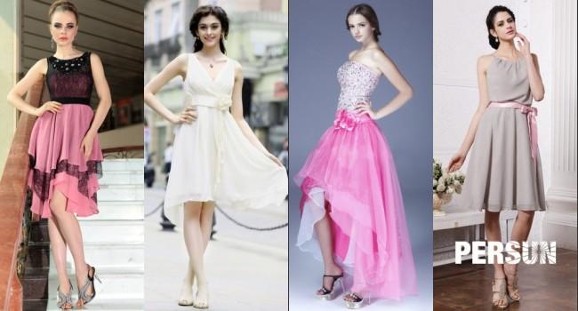 Robes de soirée chic pour des filles au bal