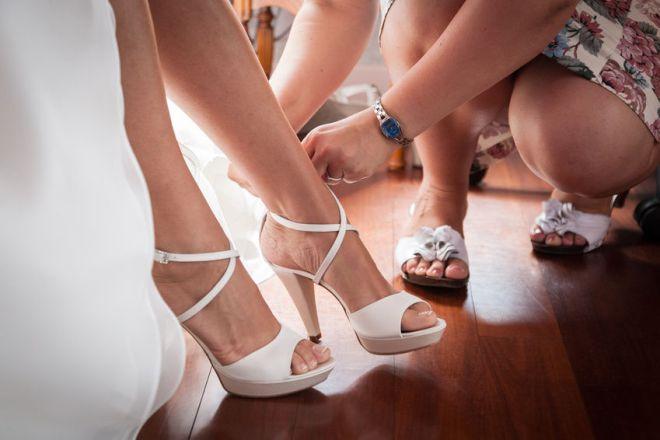 Chaussures de mariage pour l'été.JPG