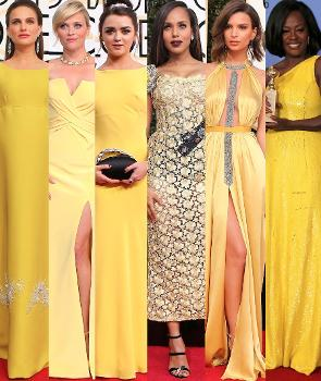 robes jaunes aux Golden Globes 2017.jpg
