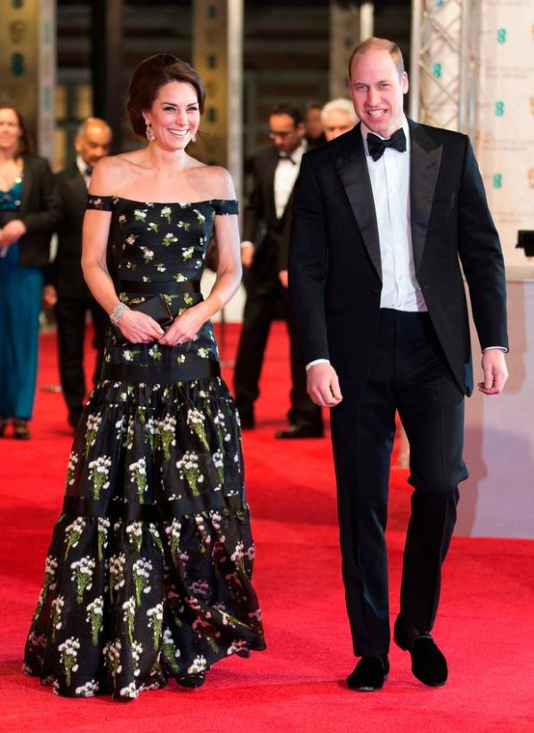 Kate Middleton et Prince William aux BAFTA Awards 2017.jpg