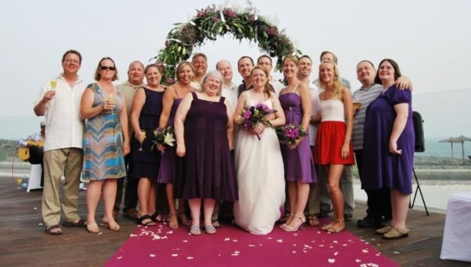 Robes courte pour cérémonie mariage plage