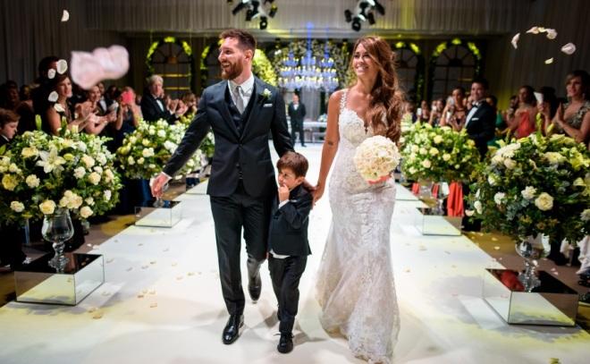 Antonella Roccuzzo & Lionel Messi fête mariage