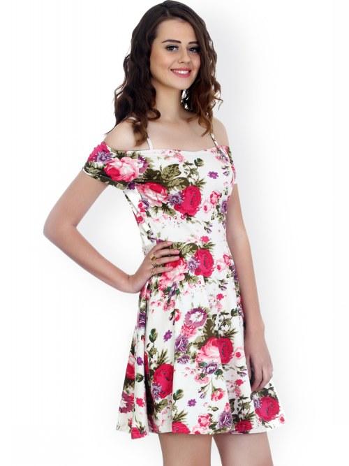 robe imprimée et florale