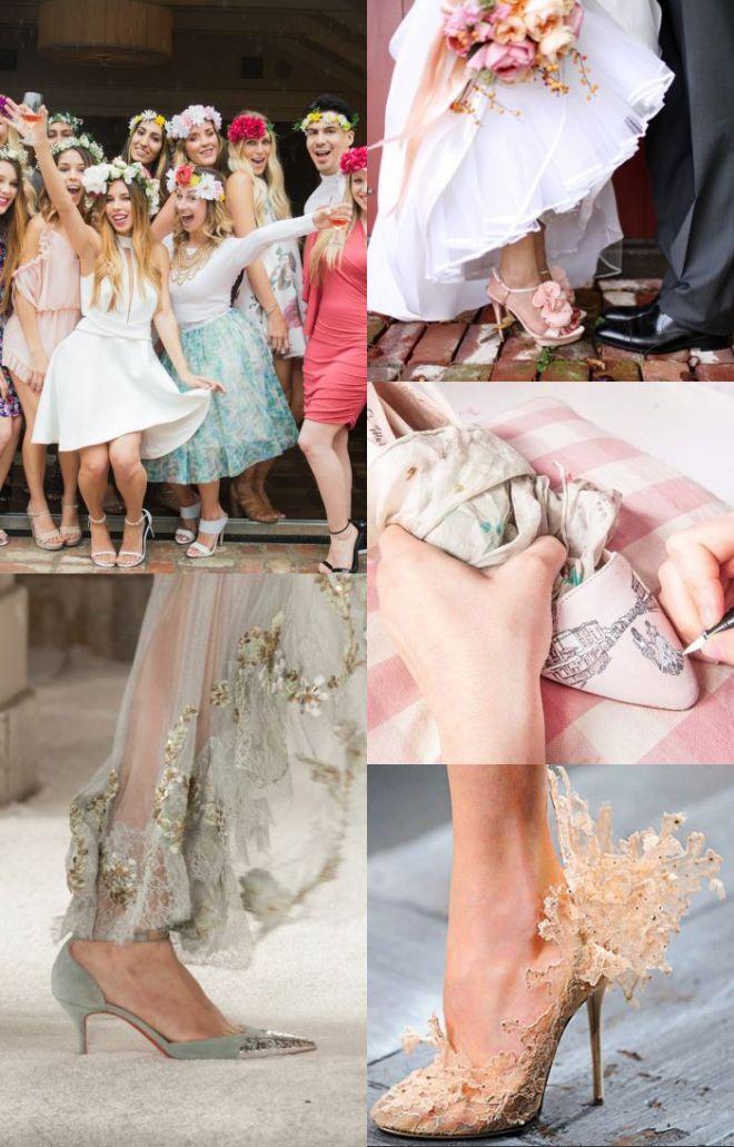 Chaussures de mariage originalea