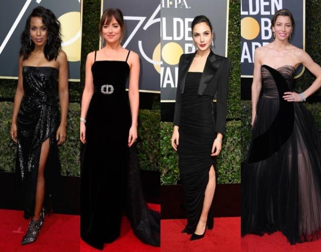 stars aux Golden Globes 2018